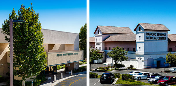Inland Valley Medical Center and Rancho Springs Medical Center